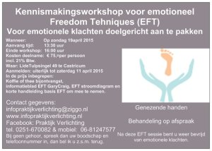 Flyer EFT kennismakingsworkshop